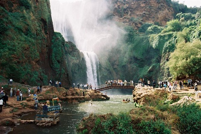 Guided Day tour of Ouzoud waterfalls from Marrakech