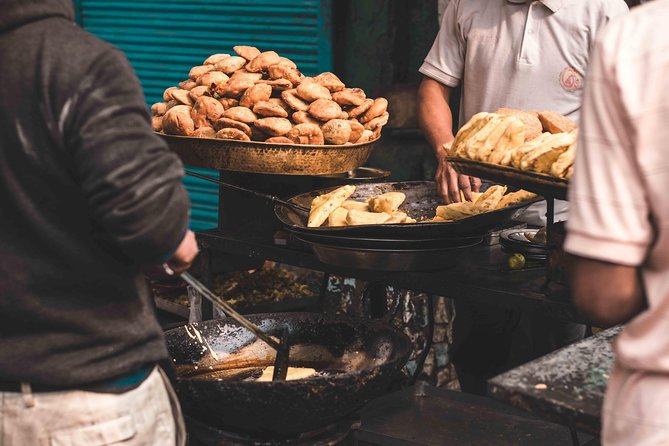Food Walk tour of Old & New Delhi with a local guide