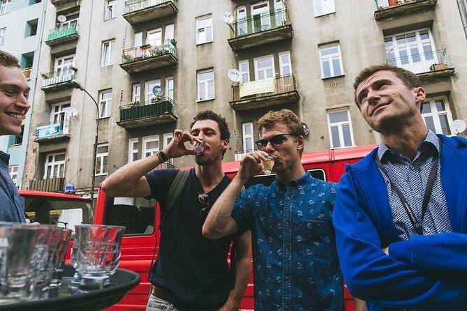 Warsaw Food Tour small group tour by retro minibus