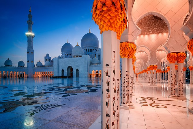 Sheikh Zayed Mosque Half Day Tour from Dubai