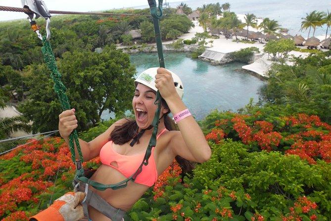 Cozumel Xtrem Adventure Zipline with Chankanaab Park