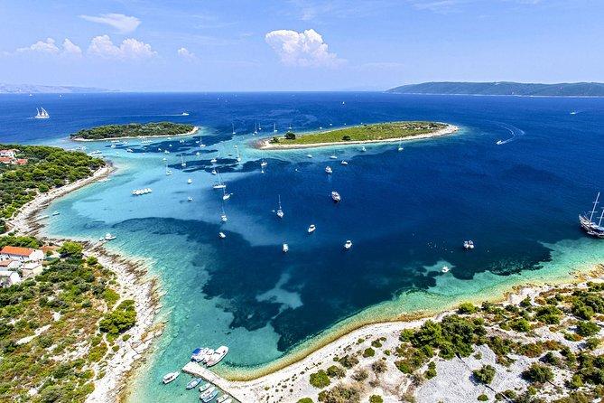 Blue Lagoon - 3 Islands Speedboat Tour from Split