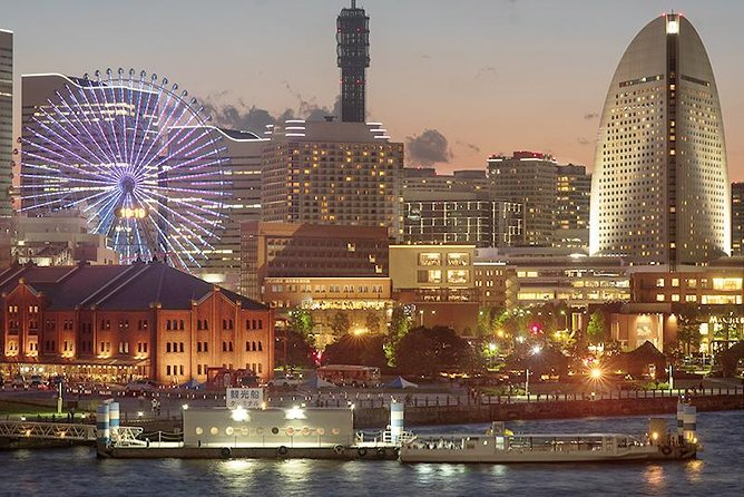 Private Tour - An Izakaya Experience and Glittering Night Views in Yokohama