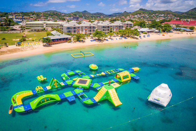 Parco acquatico Splash Island a St Lucia