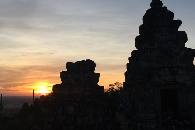 Private Full day Angkor Sunset by Bike