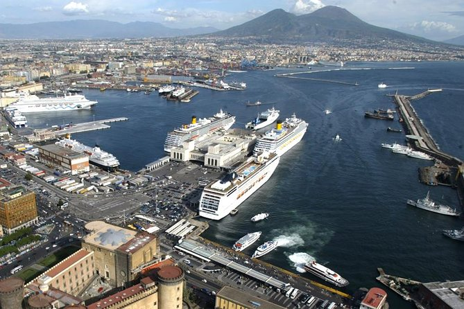 From Naples Cruise or trains Terminal: Half-Day Pompeii Tour