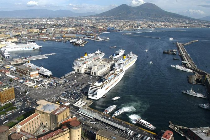 Pompeii and Vesuvius full day tour from Naples cruiseship and trains terminal