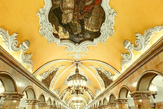 10 Most Beautiful Moscow Metro Stations