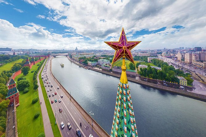 Moscow City Round Premium Tour (private tour with local guide and transfer)