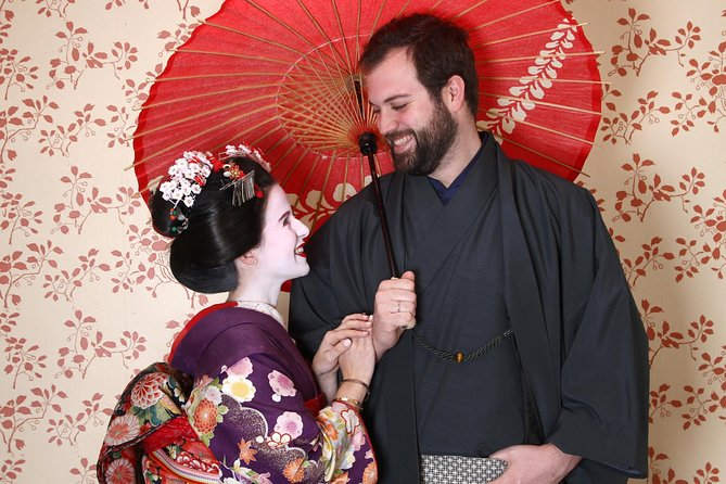 Maiko Makeover Experience in Kyoto : Couple plan
