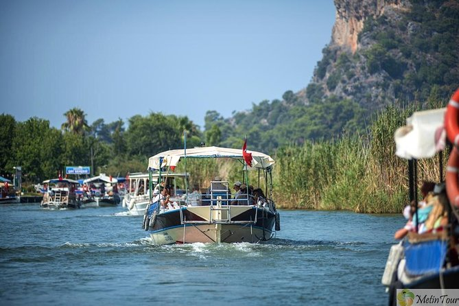 Private Dalyan River Cruise by Boat with Lunch and Sea Turtles Watching