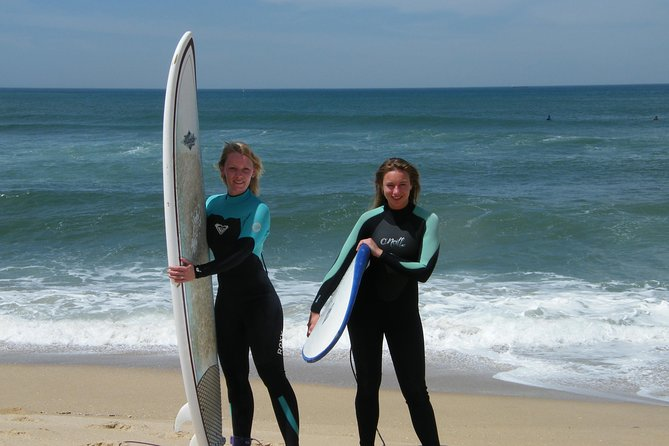 Private Surf Lesson for Two on Matosinhos Beach