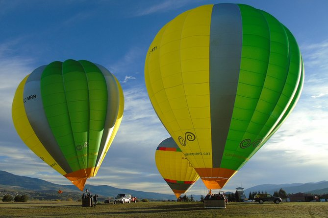 Hot Air Balloon flight Barcelona for 3 people