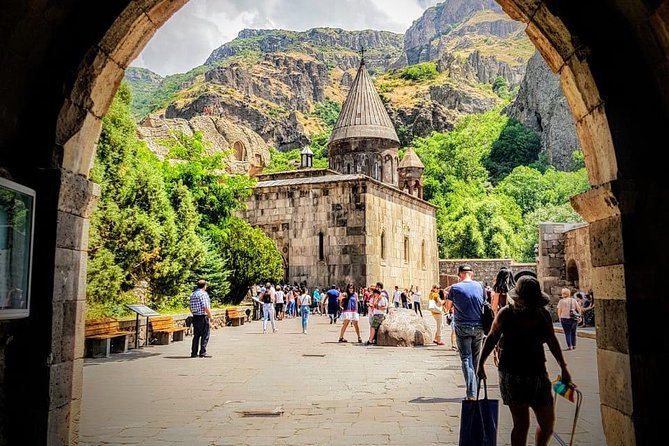 Private Tour to The Arch of Charents, Garni Temple and Geghard Monastery