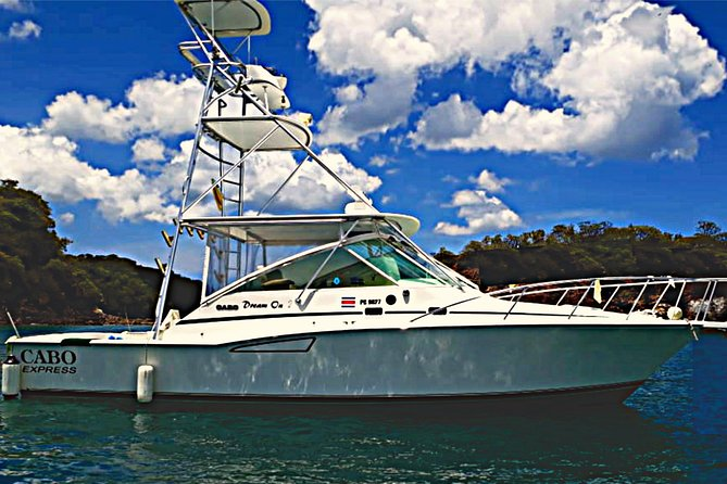 Half Day All-Inclusive Inshore Fishing Day Trip in Costa Rica aboard DREAM ON
