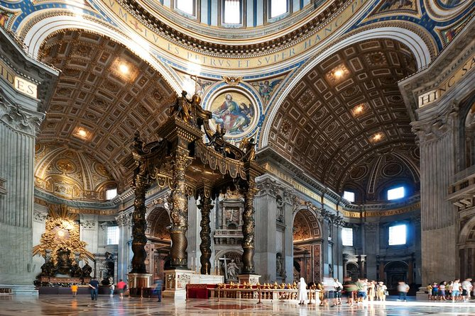 Vatican City Saint Peter Basilica Private visit for your family and friends