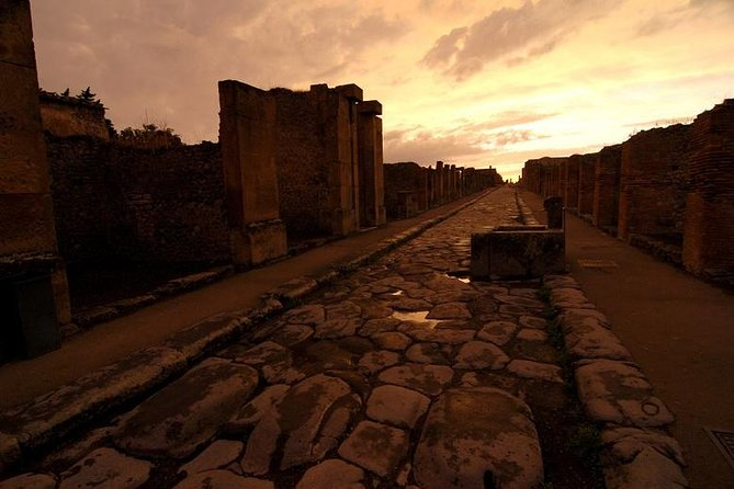 Pompeii from Rome - Private Transport Included