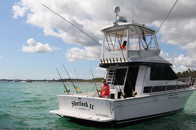 Punta Cana Private Fishing Charter on 39 Foot Boat