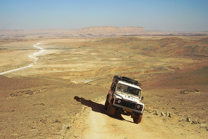 Ramon Crater Jeep Tour from Mitzpe Ramon