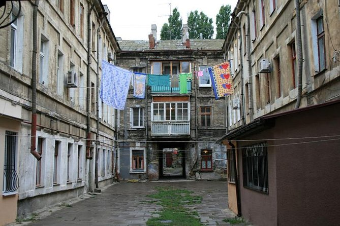 Visit places in Odessa where famous robbers lived