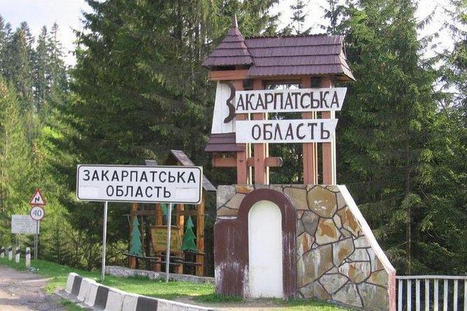 Day Trip to Zakarpattia Region from Yaremche including Yablonitsky Pass and Rakhiv and Solotvino