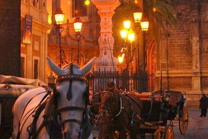 Horse and Buggy Ride in Seville with guide