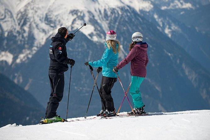 Aula de esqui particular com duração de 3 horas