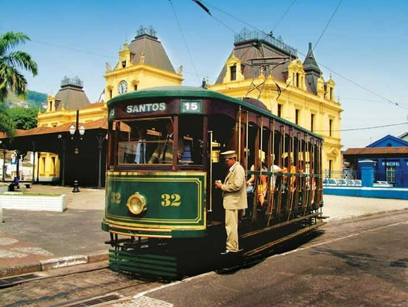 Santos Shore Excursion: Full Day City Tour and GRU Airport Transfer