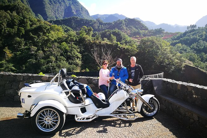 Madeira - 4 Hour tour as passenger, our driver (1 to 2 people - price per Trike)