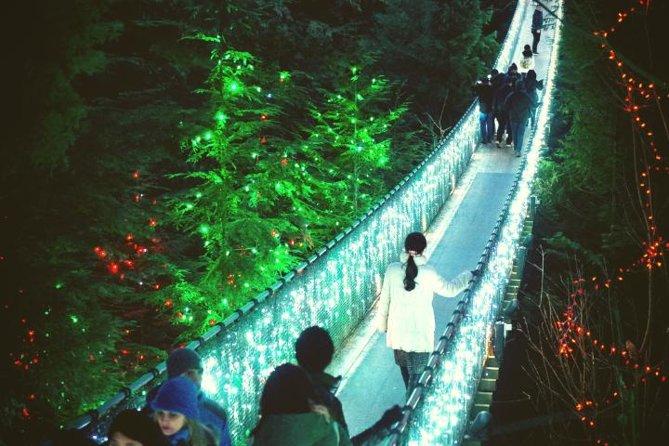 Private Christmas Tour: Vancouver & Capilano Bridge