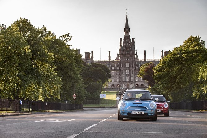 Private 2hr Tour of Edinburgh in a Mini Cooper