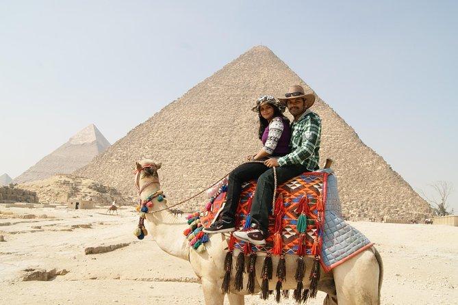 Private Day Tour to Giza Pyramids Sphinx Memphis Saqqara and Dahshur Pyramids