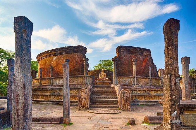 Private Half Day Tour: Polonnaruwa Gal Vihara and Ruins City