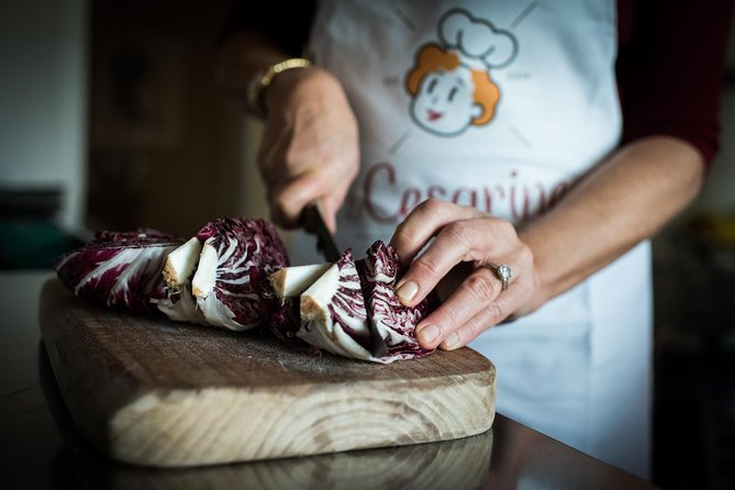Market + Cooking class in Vicenza