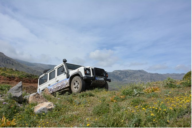 Crete Land Rover Safari with Lunch and Drinks