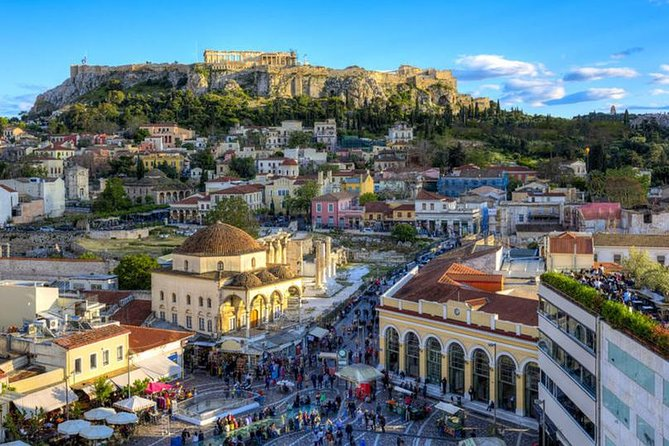 Private Tour of Athens City and Streets : No Museums