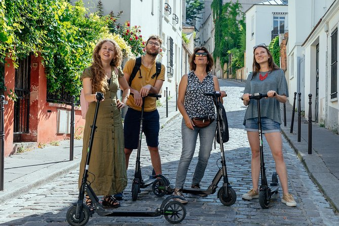 E-Scooter Tour through Paris's History for up to 8 Guests