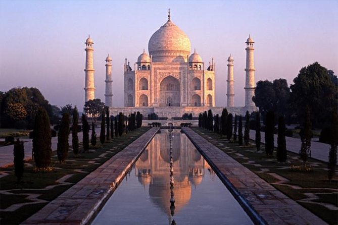 Full-Day Agra City Tour: Taj Mahal at Sunrise & Revisit Taj Mahal at Sunset
