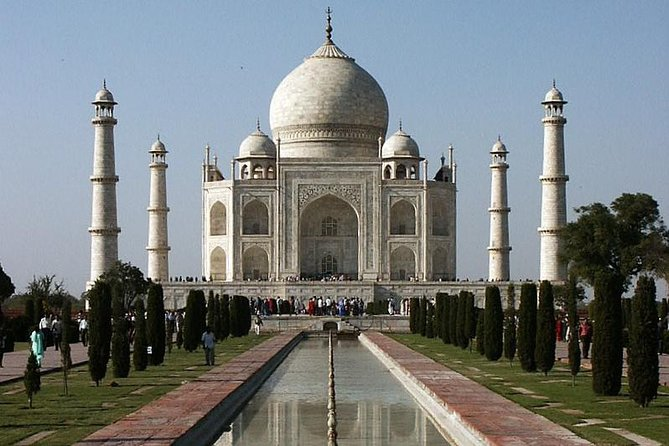 Taj Mahal and Agra Day Tour From Jaipur Ending in Delhi by Train