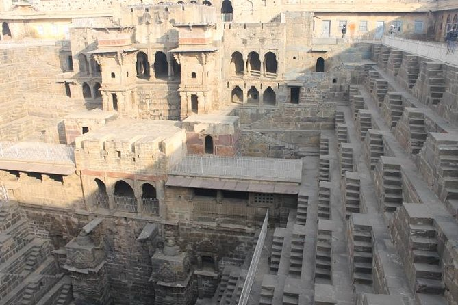 Day-Trip to Chand Baori Stepwell from Jaipur and City Palace visit