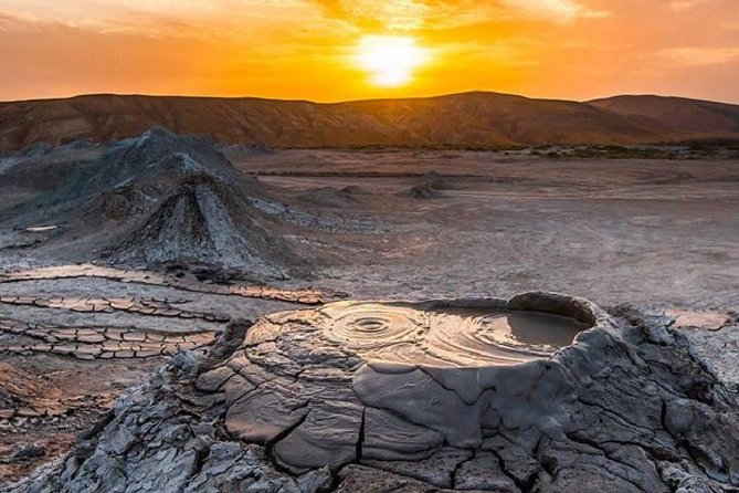 Mud Volcanoes & Gobustan Private Tour