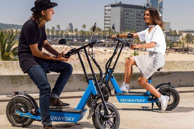 Barcelona Beach eScooter Tour
