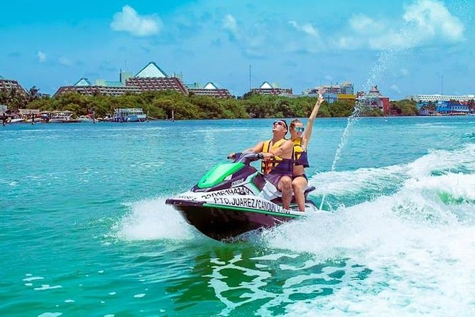 Cancun Jet Ski Wave Runner Ride in the Caribbean Sea (30 or 60 Minutes)