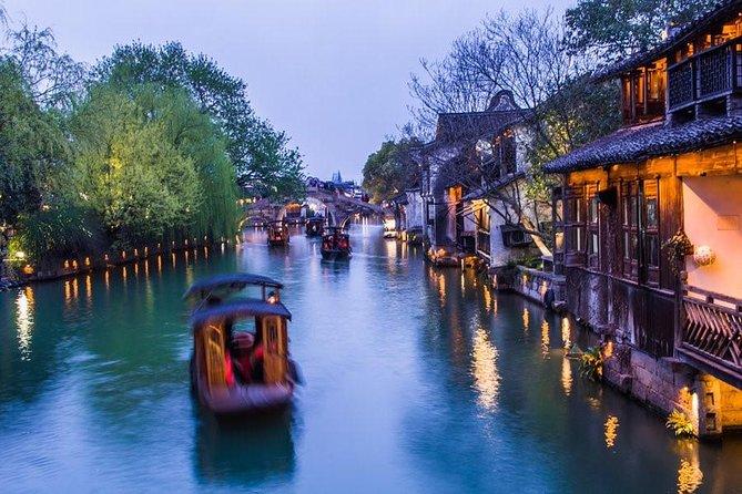 Dia de excursão particular na Cidade das águas Zhujiajiao e em Xangai