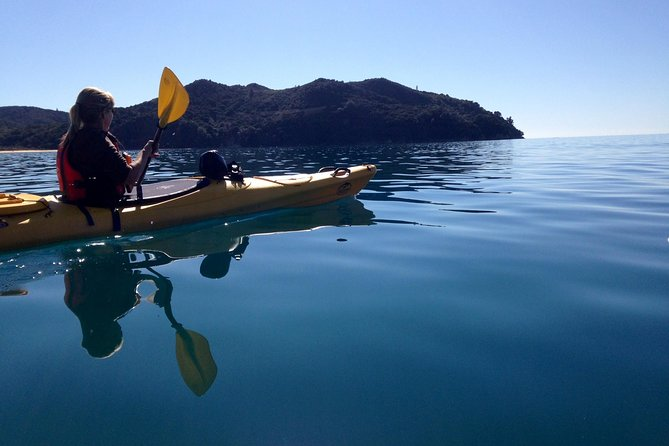 Full-Day Abel Tasman Relaxed or Late Riser Kayaking