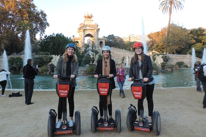 Sightseeing Segway Tour in Barcelona