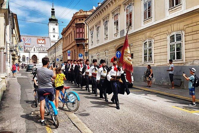 Highlights of Zagreb bike tour