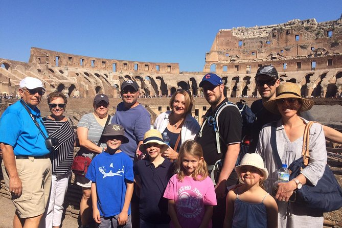 Colosseum Tour Express for Kids and Families in Rome with Local Guide Alessandra