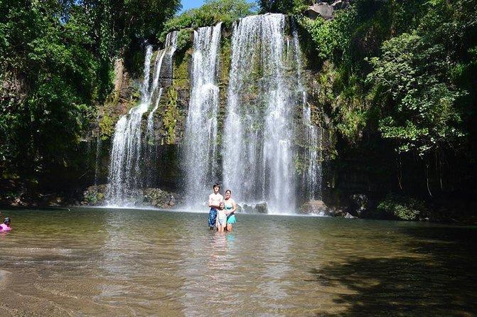 Cráter y cascadas de Miravalles desde Tamarindo