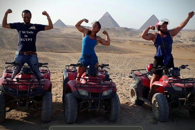 1-Hour Quad Bike at Giza Pyramids